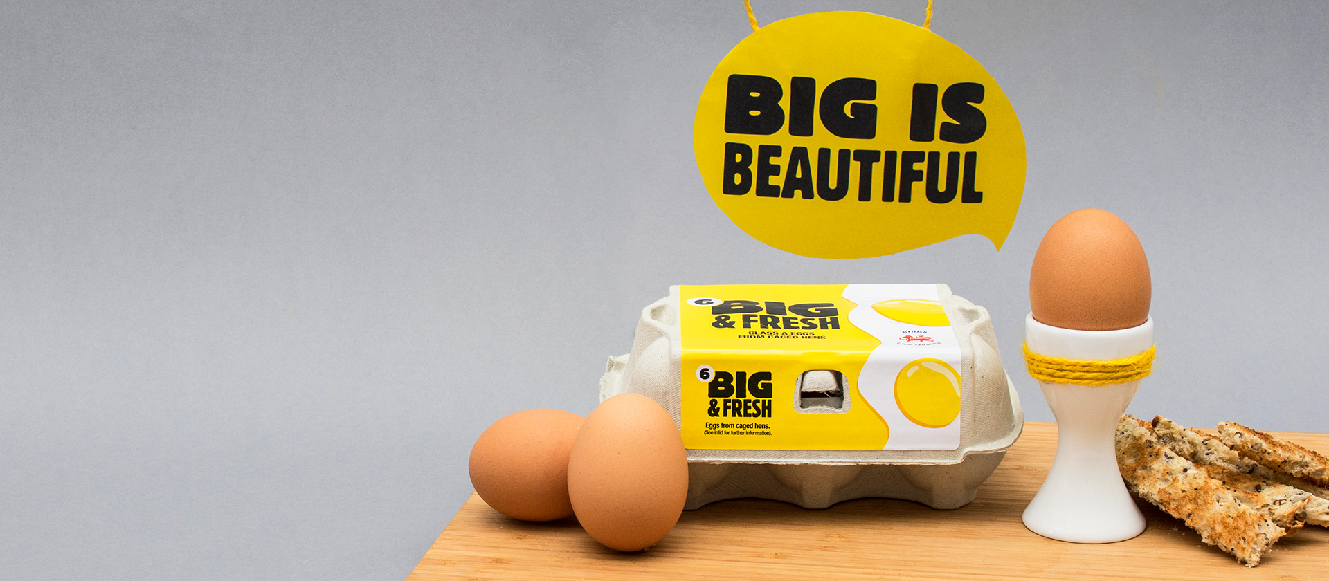 Big and Fresh Egg brand at Noble Foods
